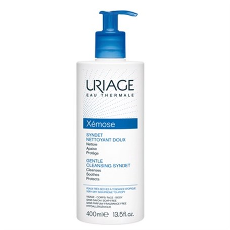 Uriage Eau Thermale Xemose Syndet Nettoyant Doux 400 ml