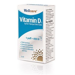 Wellcare Vitamin D3 400IU 5 ml Sprey