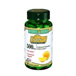Natures Bounty Ester-C 500 mg 60 Tablet