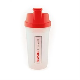 GNC Shaker Bottle - Red Big 550ml