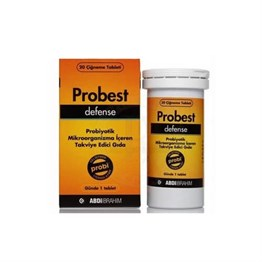 Probest Defense 20 Çiğneme Tablet
