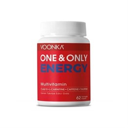 Voonka One & Only Energy Multivitamin 62 Kapsül